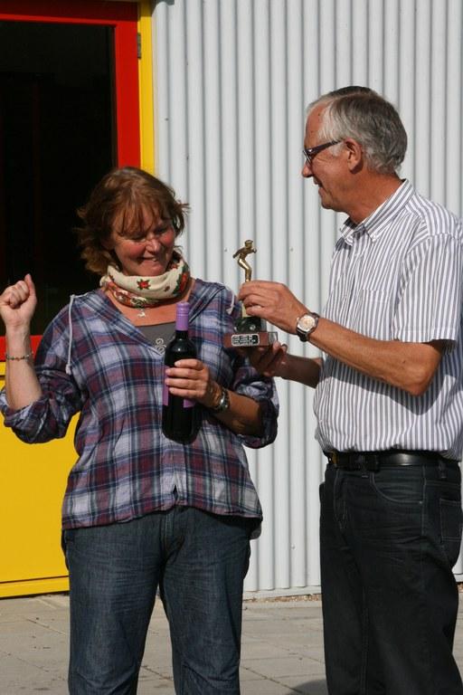 Anna Lichtendahl wint als eerste vrouw het Dirk Kooistra toernooi.