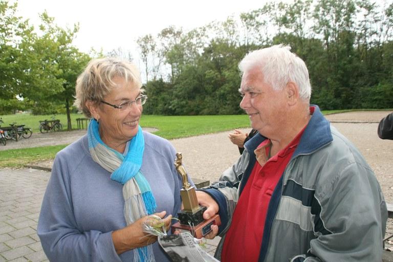 Annemarie Rietman winnares sterk bezet Dirk Kooistra toernooi
