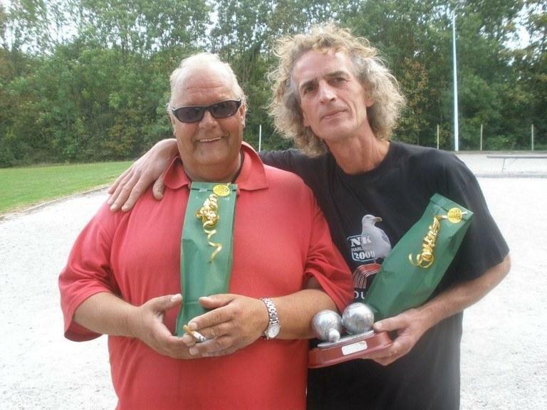 Claude Llamas wint het Dirk Kooistra toernooi