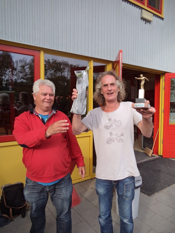 Claude Llamas wint ook het Dirk Kooistra toernooi
