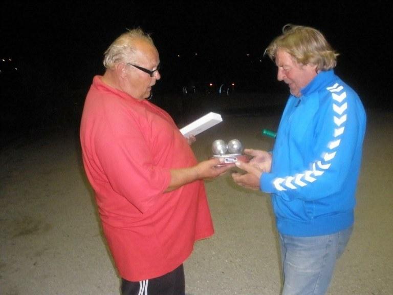 Gerrit Hiemstra winnaar Interne Competitie Boulegoed