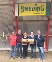 Gretha Hoekstra en Wouter Hoekstra winnen het Smeding groente en fruit toernooi