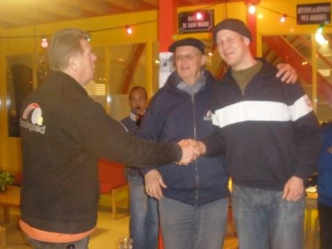 Harry Kamp en Mark Norder winnen het 5e open Harlinger Boulodrome toernooi