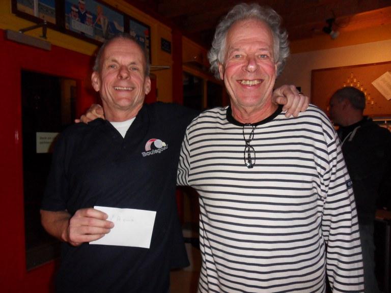 Johan Munsterman wint met Hans Timmermans het Stienen Man toernooi