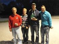 Kees Koogje en Martin Bakker winnaars Walle Geertsje toernooi