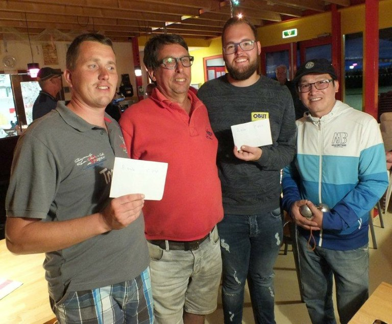 Kees Koogje wint met Loc van Lee het Walle Geertsje toernooi 2017 bij J.B.V. Boulegoed