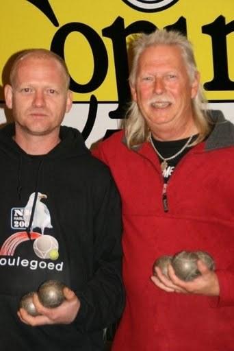 Klaas Tichelaar en Klaas de Jong winnen Jetting Boulodrome toernooi