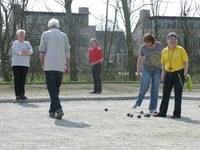 Maret Jansen, Johan Jansen en Marcel te Slaa winnen Open Fries triplette toernooi