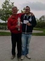 Martin Bakker en Kees Koogje winnaars Walle Geertsje toernooi