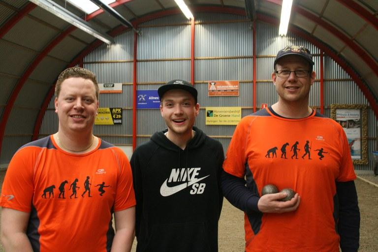 Norder, Grimberg en Van Lier winnen open Fries tripletten kampioenschap