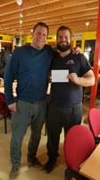 Rik Moorlag en Aede Dijkstra winnen het Ouwe Seunen toernooi
