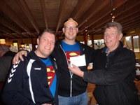 Winnaars Rik en Mark De Supermannen van het Stienen Man toernooi Boulegoed