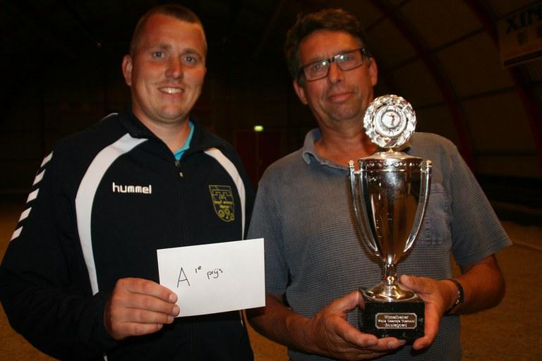 Wouter Hoekstra en Cees Minnema winnaars Walle Geertsje toernooi